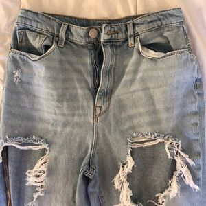 urban outfitters BDG super ripped jeans